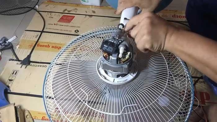 Cách tự sửa quạt điện