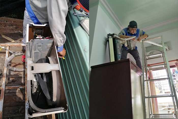 Dịch vụ sửa máy lạnh của Nhất Long